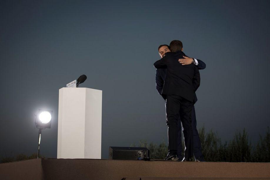 """Frankreichs Präsident in Athen """"Griechenland Krise ist Krise Europas"""